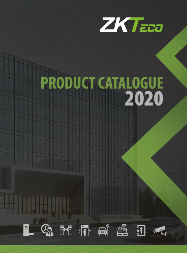 ZKTeco Europe Product catalogue 2020