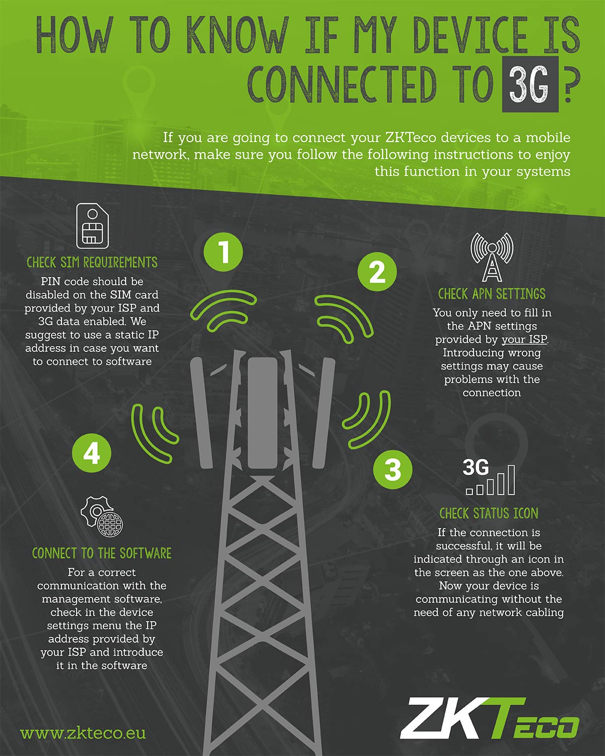 How to know if my device is connected to 3G? Easy steps to