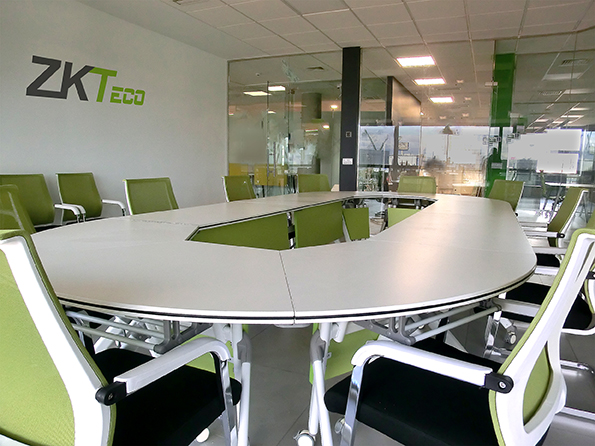 zkteco, zkteco europe, headquarters, meeting room