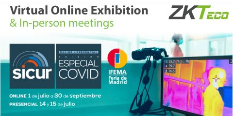 ZKTeco at SICUR Covid Exhibition 2020