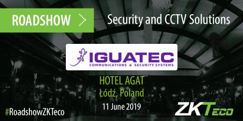 ZKTeco Europe joins Iguatec Roadshow in Poland, ZKTeco, ZKTeco Europe, Iguatec, Poland, Roadshow,