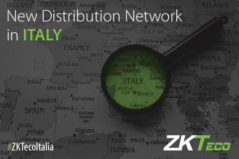 ZKTeco Distribution network Italy new partners