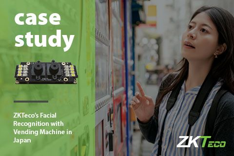Case study Japan vending machine ZKTeco
