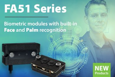 Embedded Biometric Modules FA51M & FA51MC | Biometrics Catalogue 2021