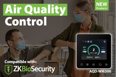 ZKTeco's Complete Air Quality Control Solutions