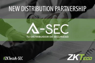 ZKTeco Europe A-Sec distribution agreement