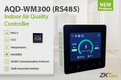CO2 érzékelő AQD-WM300 (RS485) levegőminőség-szabályozó integrátorokhoz