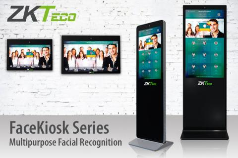 FaceKiosk, FaceKiosk series, ZKTeco, ZKTeco Europe, multipurpose facial recognition, facial recognition device,