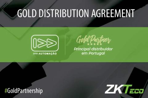 IVV Automaçao, ZKTeco Europe, Gold Partnership,