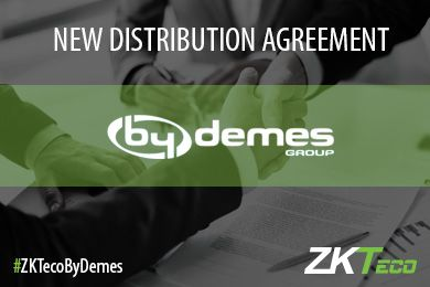 By Demes Group is now a ZKTeco Gold Partner
