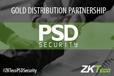 PSD Security and ZKTeco Europe are Gold Distribution Partners!