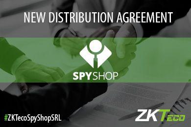 ZKTeco signs a strategic distribution partnership with SPYSHOP SRL