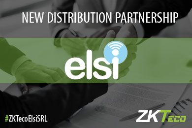 ZKTeco Europe announces Distribution Partnership with EL.SI SRL