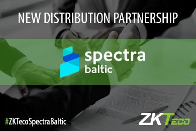 ZKTeco Europe Announces Distribution Partnership with Spectra Baltic for Latvia and Lithuania