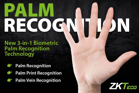 biometric palm recognition zkteco