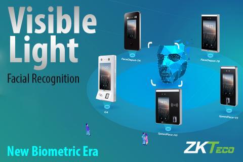 ZKTeco, Visible Light Facial Recognition, Enhanced Visible Light Facial Recognition