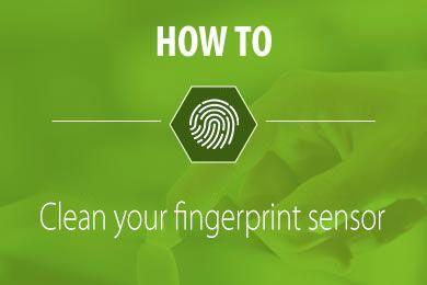 how to clean a biometric fingerprint sensor zkteco