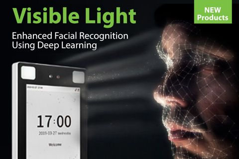 ZKTeco Europe Introducing Visible Light Facial Recognition, SpeedFace-H5L, Access Control, ZKTeco, ZKTeco Europe,