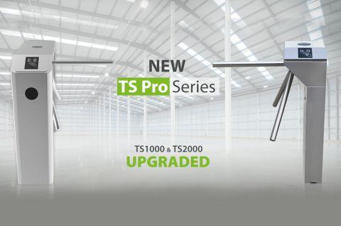 ZKTeco Europe New TS Pro Series tripod turnstiles