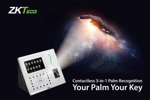 ZKTeco Europe G3 Pro The ultimate contactless biometric Time Attendance device