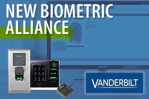 Vanderbilt expands its Access Control solutions with ZKTeco's Biometric readers, ZKTeco Europe, Vanderbilt,