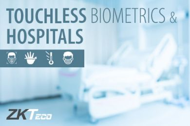 ZKTeco touchless biometric solutions for hospitals with temperature detection