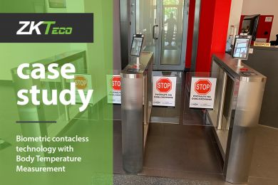 Biometrics Case Study: ZKTeco Contactless technology with Body Temperature Measurement