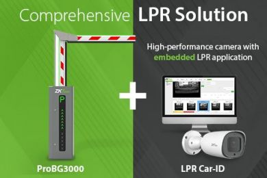 ZKTeco LPR Car ID + ProBG3000 Vehicle Access Management Solution