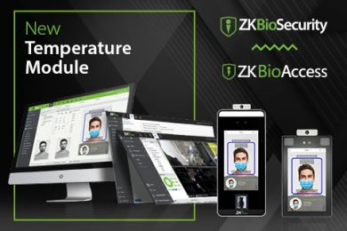 New Temperature Detection Modules in ZKTeco Access Control Software ZKBioAccess ZKBioSecurity