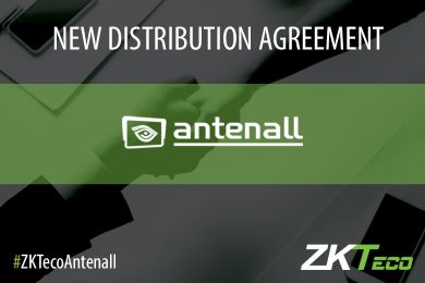 ZKTeco Europe signs a new distribuition agreement with Antenall