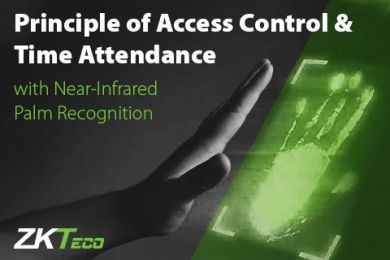 Principle of Access Control & Time Attendance with Near-Infrared Palm Recognition ZKTeco