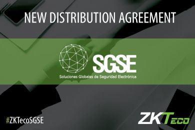 ZKTeco Europe signs a Strategic Distribution Partnership with SGSE