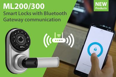 ZKTeco Smart Lock Series ML200 & ML300 with Bluetooth Digital Keypad