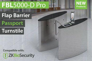 Passport-Drehkreuz FBL5000-D Pro Series | Casino- und Flughafensicherheit