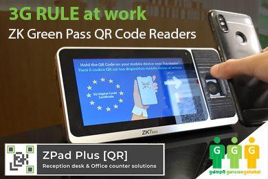 3G Rule at Work ZKTeco's New Vaccine Passport Readers
