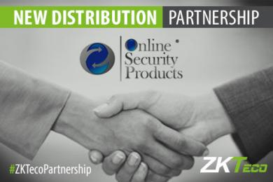 Online Security Products is now Distribution Partner with ZKTeco Ireland, Online Security Products, Distribution Partner, ZKTeco Ireland,