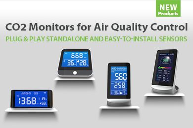New ZKTeco CO2 Monitors for Air Quality Control