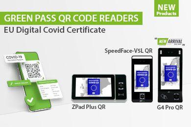 Grüner Pass QR-Code-Leser | EU Digitales COVID-Zertifikat | ZKTeco