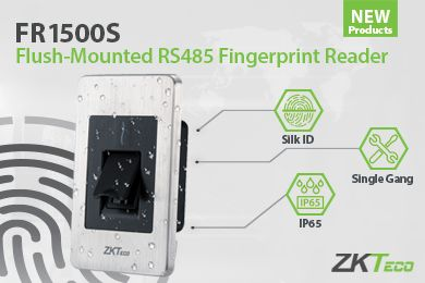 Meet ZKTeco's FR1500S Waterproof Fingerprint Reader Biometrics