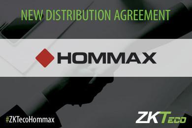 Hommax, Hommax sistemas, ZKTeco Europe, distributor, distribution agreement