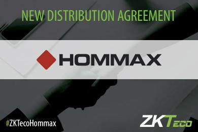 Hommax, Hommax sistemas, ZKTeco Europe, distributor, distribution agreement