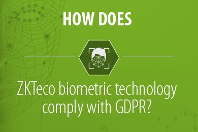 How are ZKTeco Biometrics verification technologies GDPR compliant