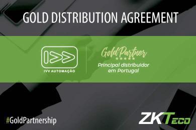 IVV Automaçao, ZKTeco Europe, Gold Partnership,