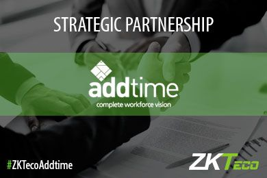 Addtime and ZKTeco Europe are now strategic partners to enhance touchless biometrics solutions
