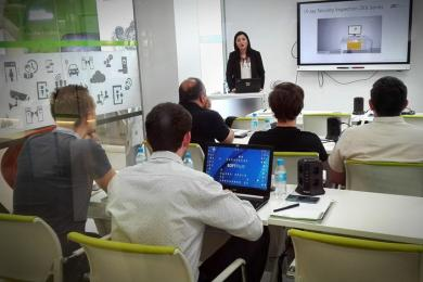 security solutions access control training at ZKTeco Europe