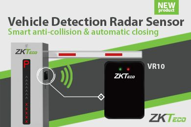 VR10 vehicle detection radar sensor