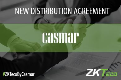 ZKTeco reaffirms its confidence in Casmar as a Strategic Partner