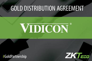 Vidicon signs a Gold Distribution Partnership with ZKTeco Europe, ZKTeco Europe, ZKTeco,