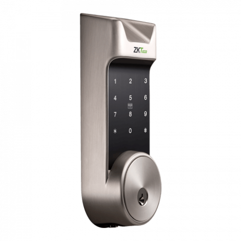 zkteco, al30b, rfid lock, smart lock, bluetooth lock