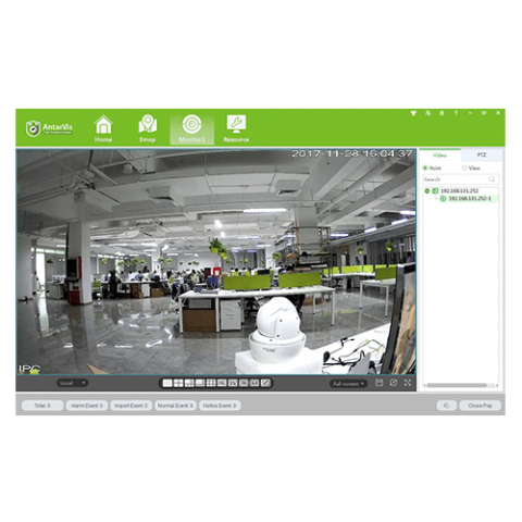 AntarVis Monitor Screen